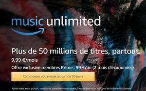 Musique Illimitée Amazon