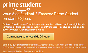 Abonnement Student